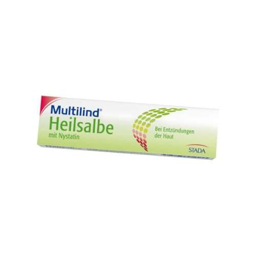 MULTILIND Heilsalbe m. Nystatin u. Zinkoxid
