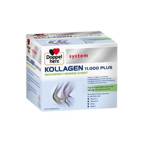 DOPPELHERZ Kollagen 11. 000 Plus system Ampullen