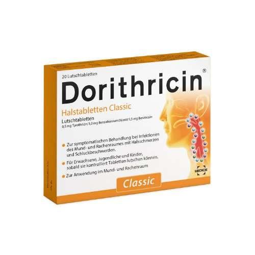 DORITHRICIN Halstabletten Classic