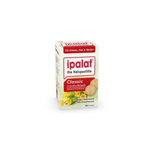 IPALAT Halspastillen classic + zuckerfrei + honigmild