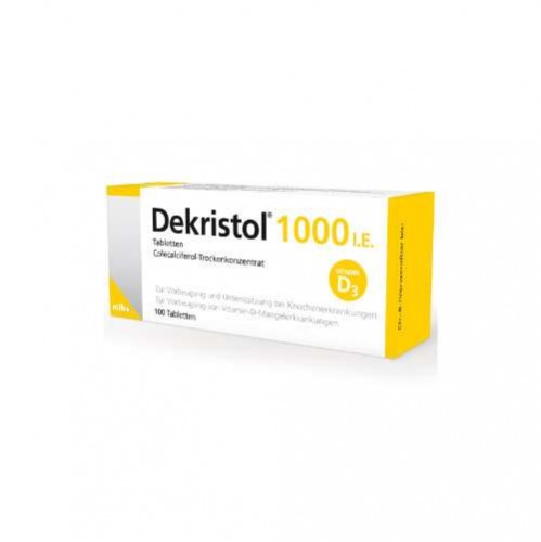DEKRISTOL 1. 000 I. E. Tabletten