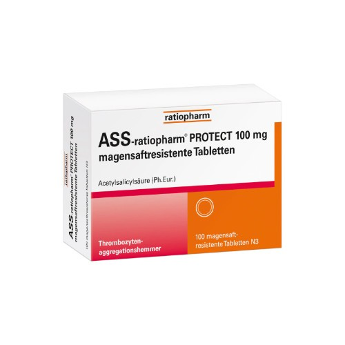 ASS-ratiopharm PROTECT 100 mg magensaftr. Tabletten