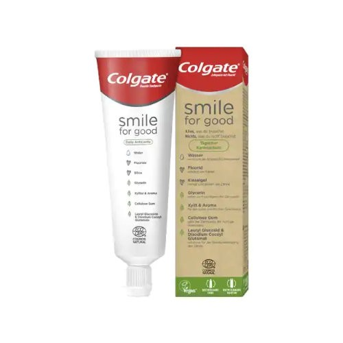 COLGATE Smile for good Zahnpasta Kariesschutz